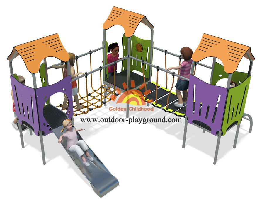 small backyard play structures