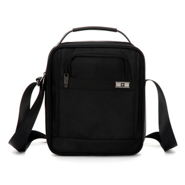 Leisure Business Waterproof Black Shoulder Messenger Bag