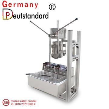 3L Manual  churros machine Churrera Churro machine with electric fryer