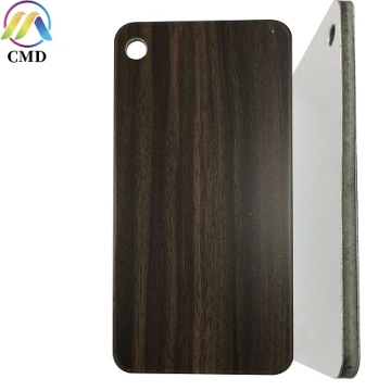 Wenge Dark Aluminium Composite Panel