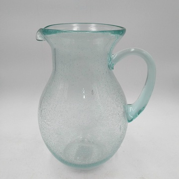 green clolor bubble glass pitcher high ball glass tumbler