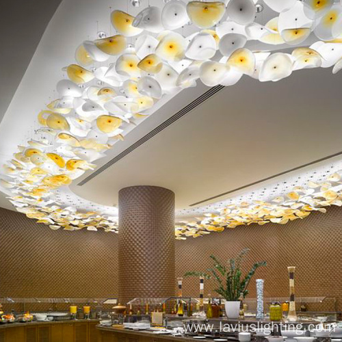 Creative customized fascinating restaurant lobby chandelier