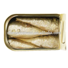canned fish in tins