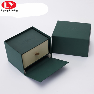 custom luxury watch box insert with pillow