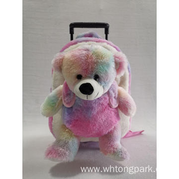 Plush Bear Trolley Backpack