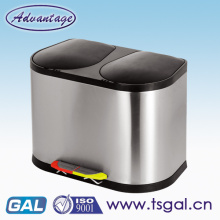 Double bin for home appliances