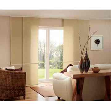 Motorization Panel Curtain Track Blinds