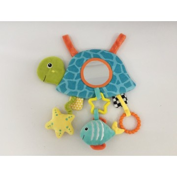 Plush Turtle Hammock for Baby