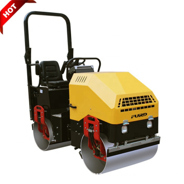 High Quality 1.5 Ton Diesel Vibratory Ride On Roller Compactor