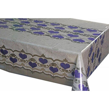 blue  7D Meiwa Printed Tablecloth