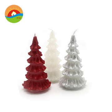 Christmas party Led Christmas tree decorations candle