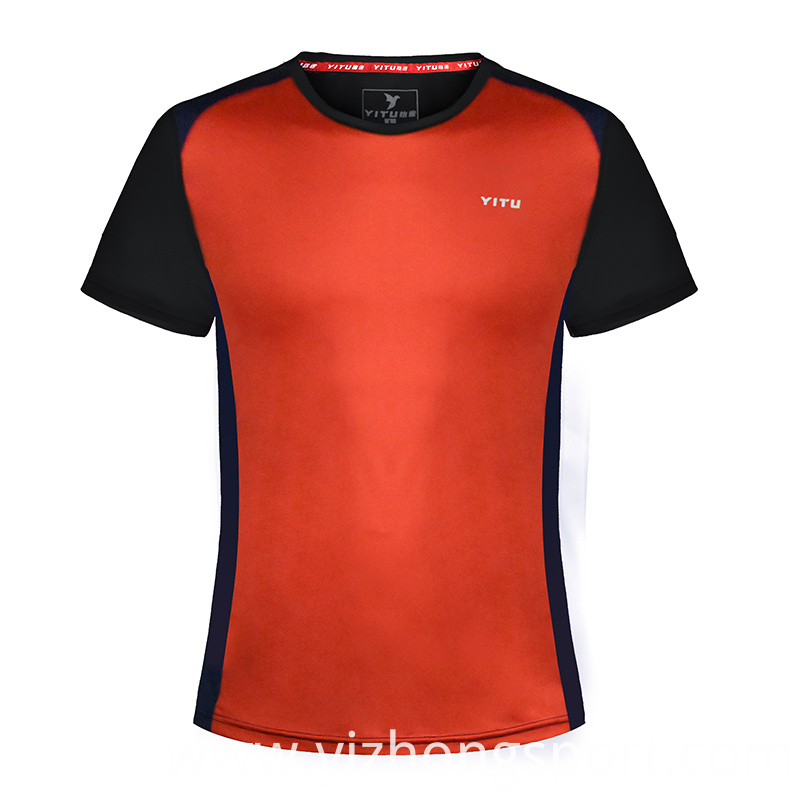 Fitness T Shirt Contract Color