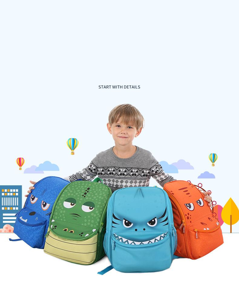 Animal backpack children's bag boys' kindergarten