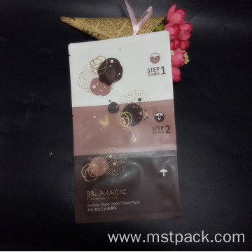 Printed Aluminum Foil Facial Mask Packaging Bag