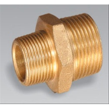 Brass pipe fitting brass Male Reducing Nipple