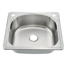 Malaysia topmount Single Bowl Kitchen Sink