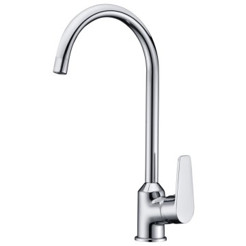 Dual Function Single Handle Kitchen Faucet Modern Mixer