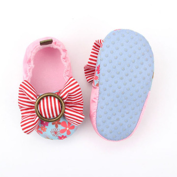 Colorful Anti-Slip Spot Infant Dress Shoes