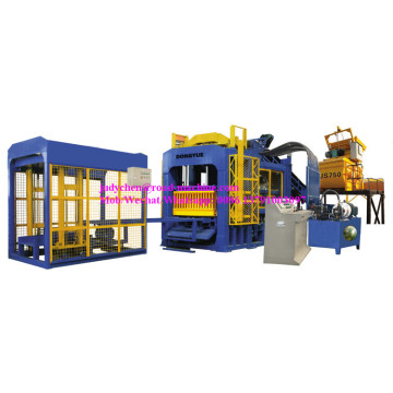 QT10-15  cement block making machine 9000-12000pcs/day