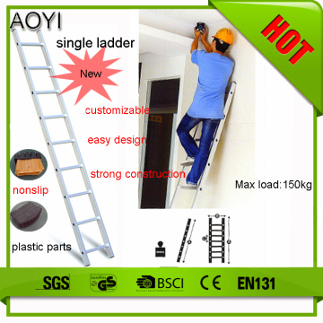 3m single straight ladder