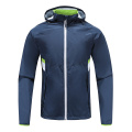 Mens Rugby Wear Zip Up Hoodies Green