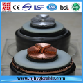 High Volt 66KV Aluminum Conductor XLPE Insulated Power Cable