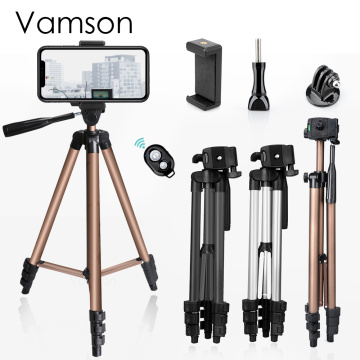 for Camera Tripod for Gopro hero 8 Black 7/ 6 for Compatible mobile phone /camera Camcorder Video stand in 3 colors Tripod