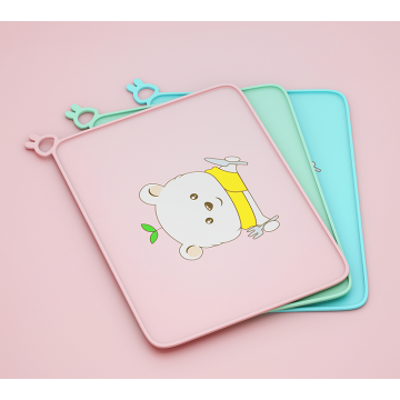 Custom Cute Cartoon Placemats for Kids Raised Edges