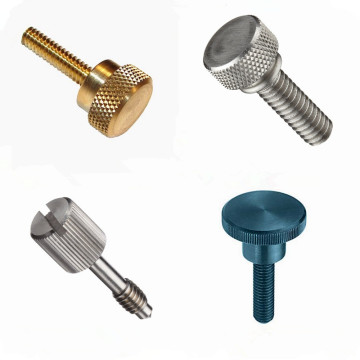 Stainless Steel  Knurled Head Thumb Screw