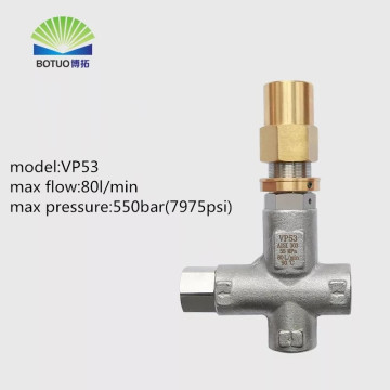 VP53 80L 550bar regulator