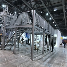 metal steel structure building platform price