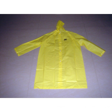 High Quality Waterproof EVA Yellow Raincoat for Men