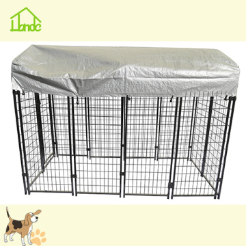 Black Pet Dog House With Wagerproof Cover