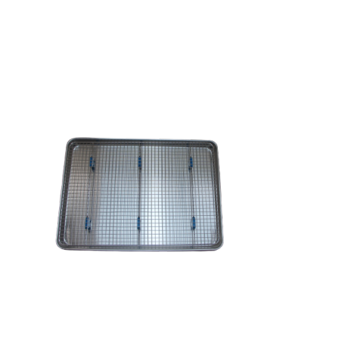Half Sheet Pan and Bakeable Cooling Rack