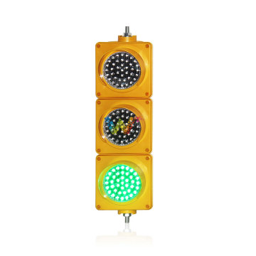 red amber green 12v dc led traffic light