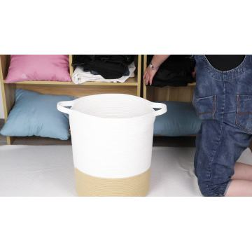 High Quality Brown Storage Decorative Laundry Basket