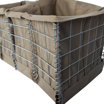 Galvanized Hesco Boston Barrier Explosion-proof mesh