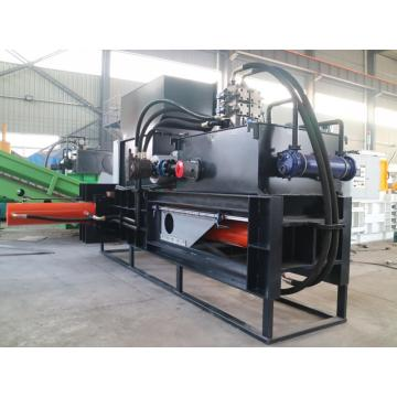 Hay and straw bagging baling machine