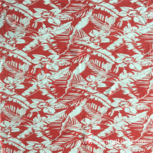 Rayon Big Leaves Print
