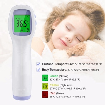 2020 Clinical Fever Digital Laser Temperature Forehead Gun