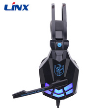 Gaming Headphone Strong Bass Sonidos con luz LED