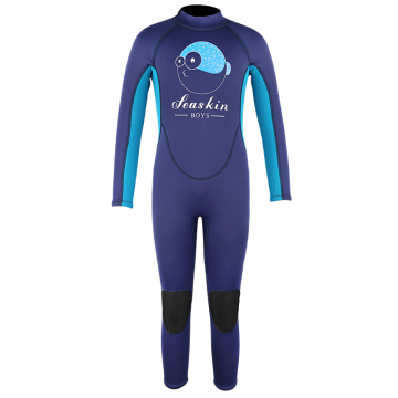 Seaskin Boys Long Leg Neoprene CR Wetsuits