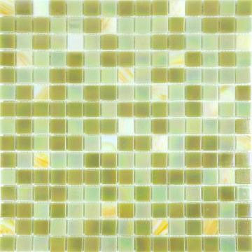 Small amount Gold line Olive green luxury tiles