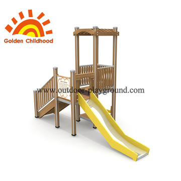 Wooden Playhouse Outdoor Playground Equipment For Sale