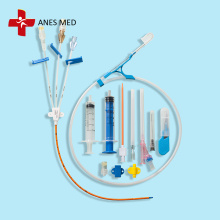 3 Lumen disposable antimicrobial Central Venous Catheter
