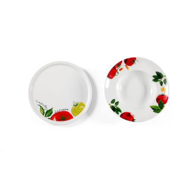 Hotel and restaurant ceramic dinnerware dishes and plates