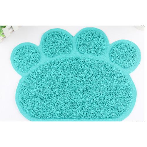 Pet Cat Litter Mat with paw style