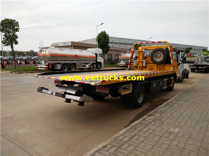 Flatbed Tow Wrecker Vehicles