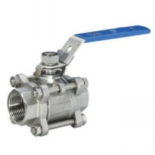 Three Piece Internal Thread Ball Valve