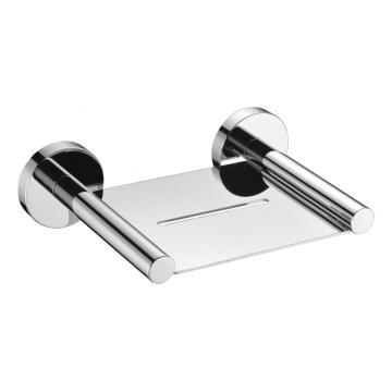 Soap tray for bathroom brass chrome